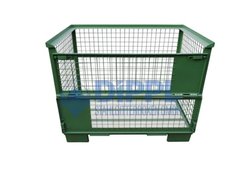 grüne Gitterbox
