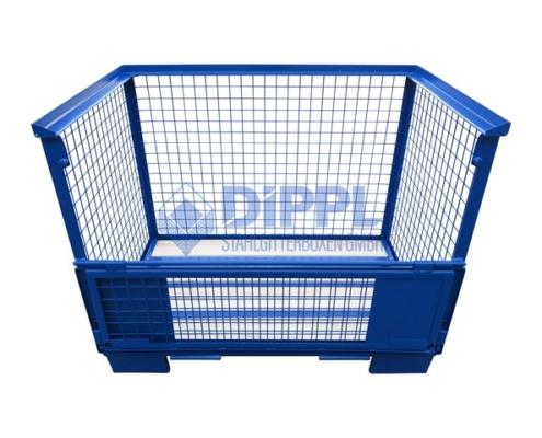 blaue Gitterbox