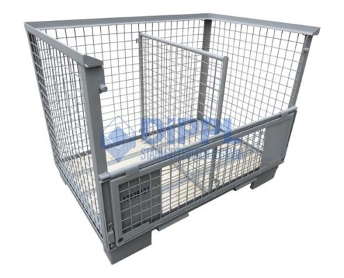 Gitterboxen mit Trennwand
