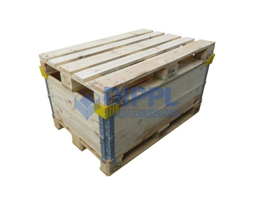 Holzaufsteckrahmen mit Stapelecken