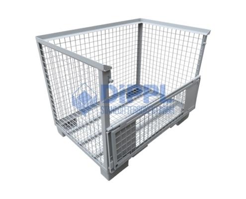 Gitterbox mit Gitterboden