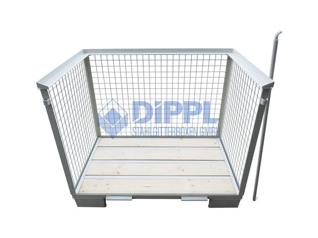 Gitterbox Sicherungsstange