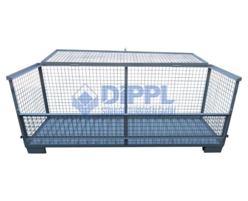 breite Gitterbox