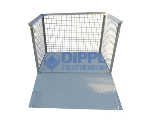 Gitterboxen mit Rampe