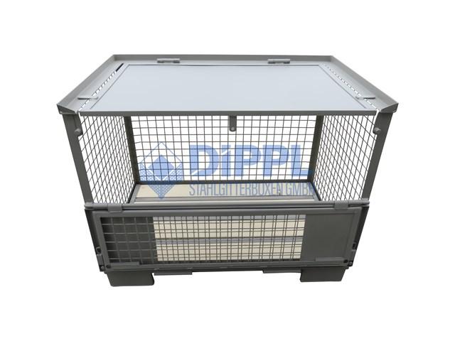 Gitterboxen abschließbar
