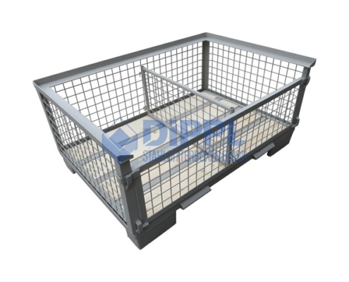 Trennwand kleine Gitterbox